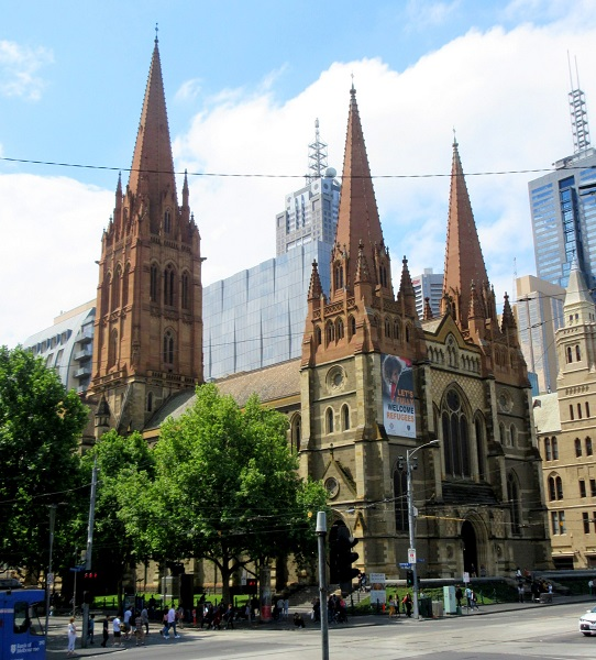 image of St Paul's Cathedral, Melbourne